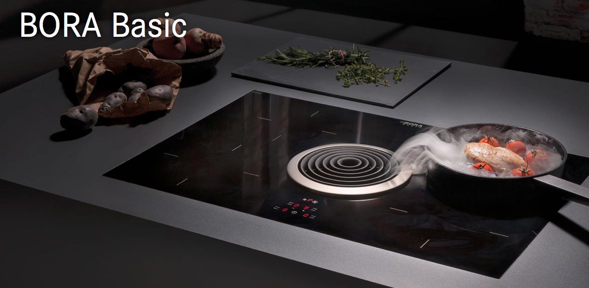 Piani cottura bora innovazione in cucina for Cucine bora prezzi